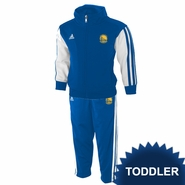 Golden State Warriors adidas Toddler Full Zip Track Jacket & Pant Set - Royal
