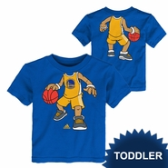 Golden State Warriors adidas Toddler Hoop Dreams Short Sleeve Tee � Royal