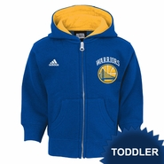 Golden State Warriors adidas Toddler �Pledge� Full Zip Hoodie � Royal