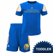 Golden State Warriors adidas Toddler �Prestige� Short Set � Royal