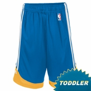 Golden State Warriors adidas Toddler Royal Blue Pre-Game Shorts