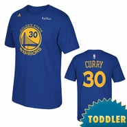 Golden State Warriors adidas Toddler The Finals Replica Tee - Stephen Curry - Royal