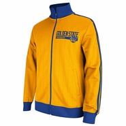 Golden State Warriors adidas Track Jacket - Gold