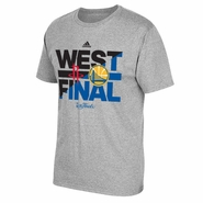 Golden State Warriors adidas Western Conference Finals Slide Matchup Tee