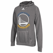 Golden State Warriors adidas White Tonal Primarly Logo Hoodie - Fog - Will Ship October 6th