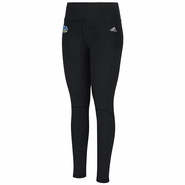 Golden State Warriors adidas Women�s Climalite Long Performer Tight � Black