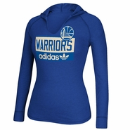 Golden State Warriors adidas Women's Long Sleeve Straight Talk Tee - Royal