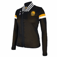 Golden State Warriors adidas Women's On-Court Jacket - Black