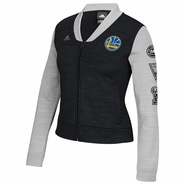 Golden State Warriors adidas Women�s On-Court Track Jacket - Black