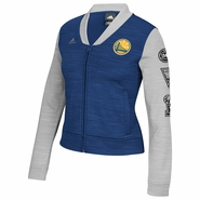 Golden State Warriors adidas Women�s On-Court Track Jacket - Royal