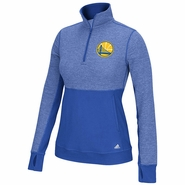 Golden State Warriors adidas Women�s Partial Logo Climalite Twist � Zip Pullover � Royal
