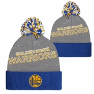 Golden State Warriors adidas Women�s Partial Logo Cuffed Knit Pom