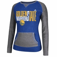 Golden State Warriors adidas Women's Pullover Crew - Grey