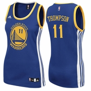Golden State Warriors adidas Women�s Replica Klay Thompson #11 Jersey � Royal