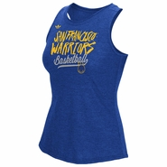 Golden State Warriors adidas Women�s San Francisco Warriors Marker Slant Nepped Tank � Royal