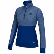 Golden State Warriors adidas Women's 'The City' Climalite Twist � Zip Pullover � Royal