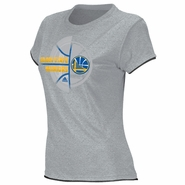 Golden State Warriors adidas Women's Tissue Tee - Grey