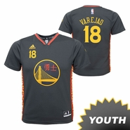 Golden State Warriors adidas Youth Anderson Varejao #18 Chinese Heritage Replica Jersey - Slate