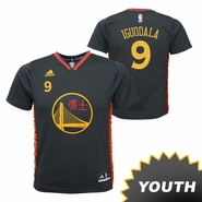 Golden State Warriors adidas Youth Andre Iguodala #9 Chinese Heritage Replica Jersey - Slate