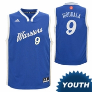 Golden State Warriors adidas Youth Andre Iguodala #9 Christmas Day Replica Jersey - Royal