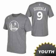 Golden State Warriors adidas Youth Andre Iguodala Gametime Tee � Slate