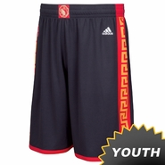 Golden State Warriors adidas Youth Chinese Heritage Replica Shorts - Slate