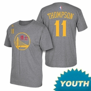Golden State Warriors adidas Youth Chinese New Year Klay Thompson #11 Gametime Tee - Will Ship 2/5
