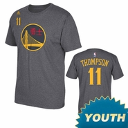 Golden State Warriors adidas Youth Chinese New Year Klay Thompson #11 Gametime Tee