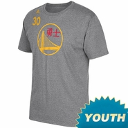 Golden State Warriors adidas Youth Chinese New Year Stephen Curry #30 Gametime Tee - Will Ship 2/5