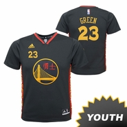 Golden State Warriors adidas Youth Draymond Green #23 Chinese Heritage Replica Jersey - Slate