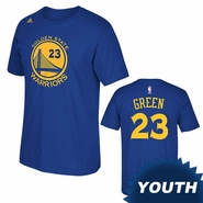 Golden State Warriors adidas Youth Draymond Green Gametime Tee � Royal