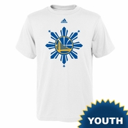 Golden State Warriors adidas Youth Filipino Heritage On-Court Tee - White