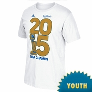 Golden State Warriors adidas Youth Golden Year Tee - White - Will Ship 7/8