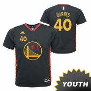 Golden State Warriors adidas Youth Harrison Barnes #40 Chinese Heritage Replica Jersey - Slate