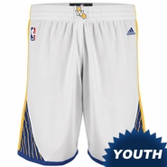 Golden State Warriors adidas Youth Home Swingman Short � White