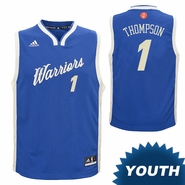 Golden State Warriors adidas Youth Jason Thompson #1 Christmas Day Replica Jersey - Royal