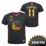 Golden State Warriors adidas Youth Klay Thompson #11 Chinese Heritage Replica Jersey - Slate