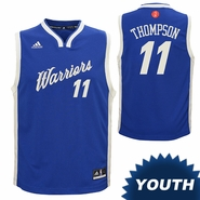 Golden State Warriors adidas Youth Klay Thompson #11 Christmas Day Replica Jersey - Royal
