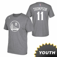 Golden State Warriors adidas Youth Klay Thompson Gametime Tee � Slate