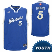 Golden State Warriors adidas Youth Marreese Speights #5 Christmas Day Replica Jersey - Royal