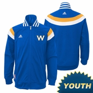 Golden State Warriors adidas Youth On-Court Jacket - Royal