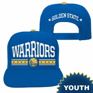 Golden State Warriors adidas Youth Originals Arch Snapback - Royal