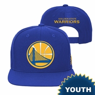 Golden State Warriors adidas Youth Partial Logo Snapback � Royal