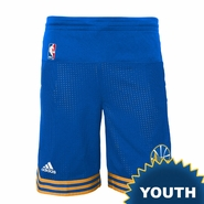Golden State Warriors adidas Youth Pre-Game Short � Royal