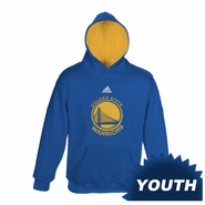 Golden State Warriors adidas Youth Primary Logo Pullover Hoody - Royal