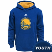 Golden State Warriors adidas Youth �Prime� Pullover Hoodie � Royal