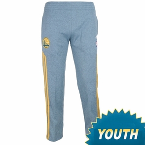 Golden State Warriors adidas Youth Secondary Logo Travel Pant - Royal - Click to enlarge