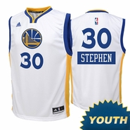 Golden State Warriors adidas Youth Stephen Curry #30 Christmas Day Replica Jersey - White