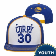Golden State Warriors adidas Youth Stephen Curry Name & Number Snapback � Royal/White
