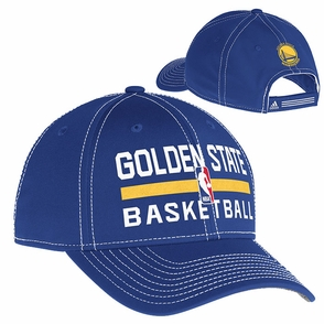 Golden State Warriors Adjustable Practice Logo Cap - Blue - Click to enlarge